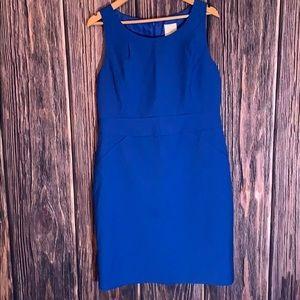 Royal blue J.Crew shift dress